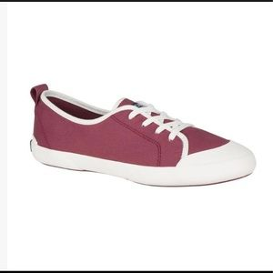 Sperry Women's Breeze Lace Up Shoes oxblood